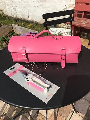 Fransk håndlavet lædertaske