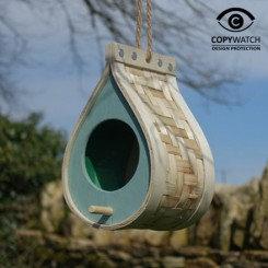 Dråbeformet fuglehus