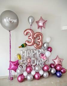 Happy Birthday con Número Personalizado