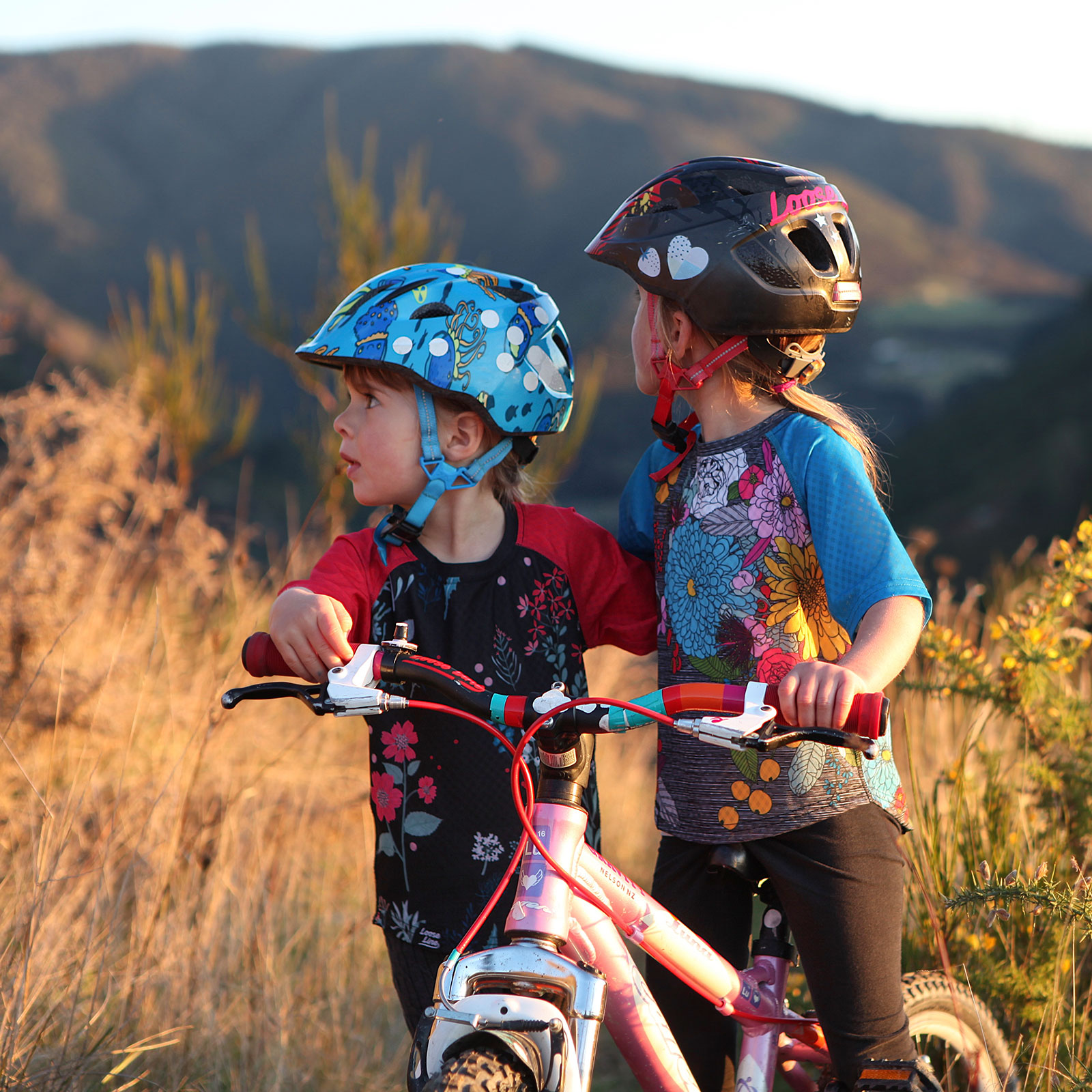 Kids MTB jersey in NZ by Loose Line