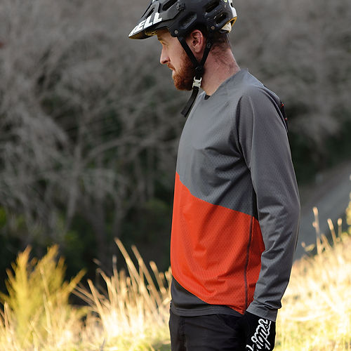 NZ mens long sleeve mens bike top loose