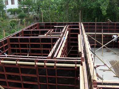 steel ply concrete wall form