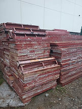 Used Concrete Steel Ply Forms