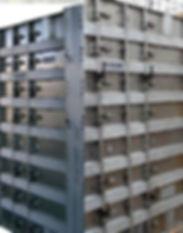 aluminum wall form corner