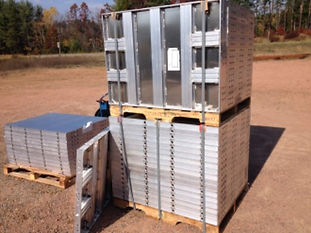Aluminum Panels Forms