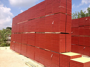 stacked concrete steel ply panels