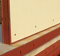 Renovated Steel Ply Panel 4'