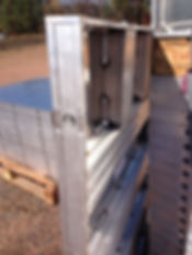 Smooth Aluminum Concrete Forming System