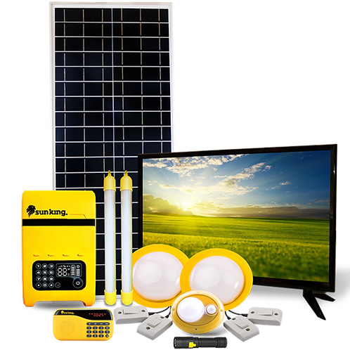"Sun King Home 400 +19"" TV - CRISS Energy"