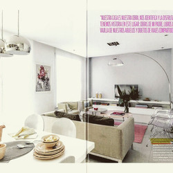 My design furnitures, in Magazin Living March edition 2015 in Argentina._■Family space