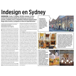 Indesign 2015_My experience published in a magazine of architecture and design in Argentina