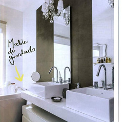 Bathroom project in Magazine Living!! May