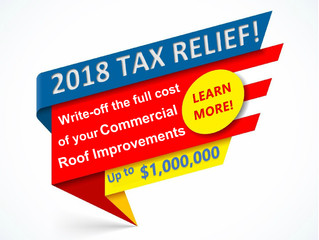 New Tax Rules for Expensing Roofs in 2018