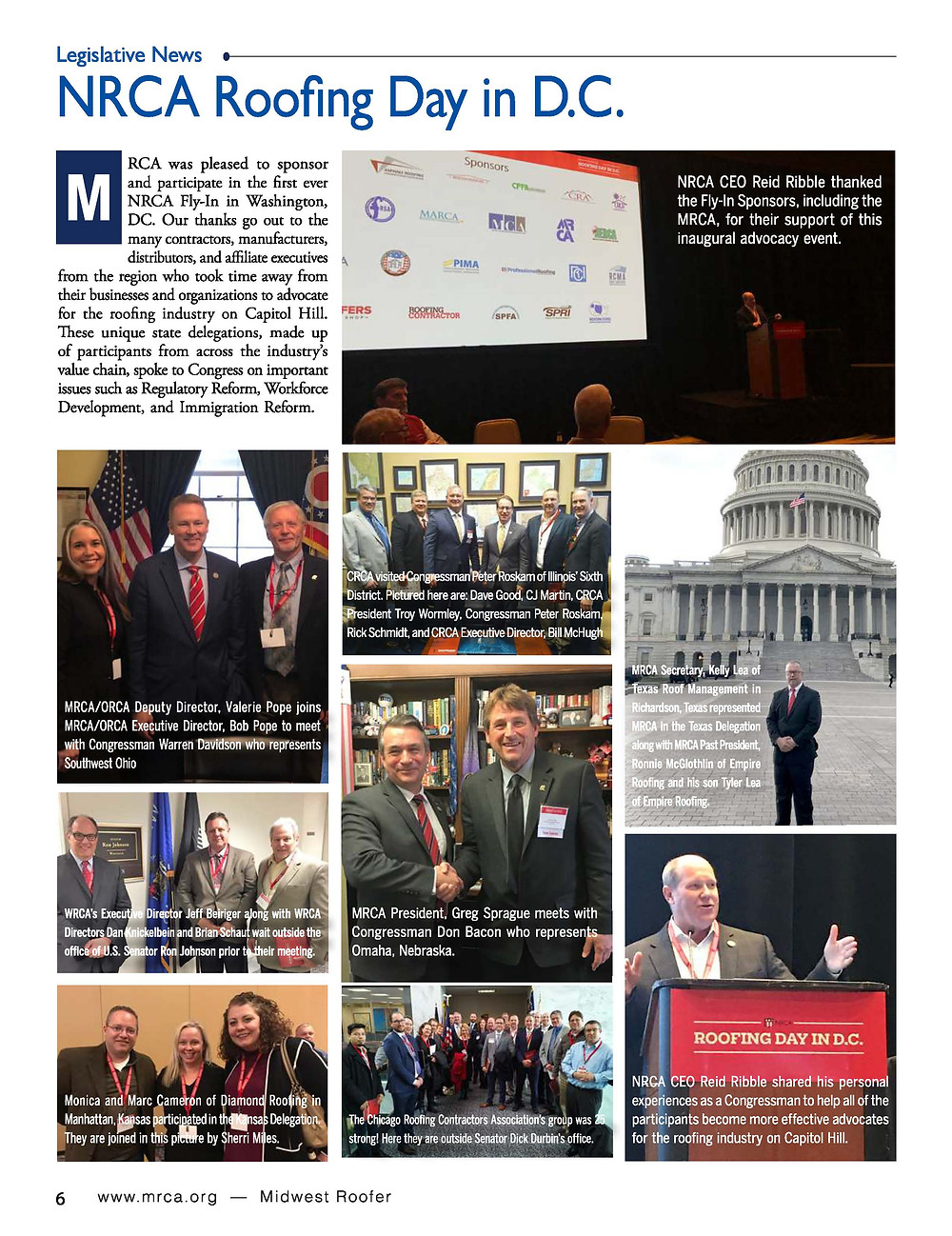 April MR Magazine Article