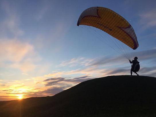 Alice Horwood Ground Handling Paraglider