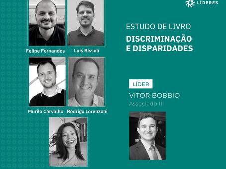 """Associados participam do estudo de livro """"Discriminação e Disparidades"""""""