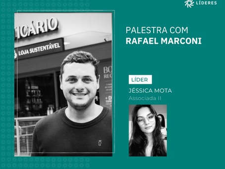 O Líderes recebeu nesta semana Rafael Marconi
