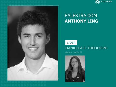 Associados do Líderes receberam Anthony Ling no webinar desta semana