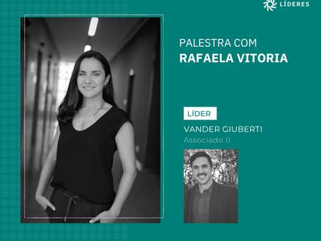 Associados do Líderes receberam Rafaela Vitoria no webinar desta semana