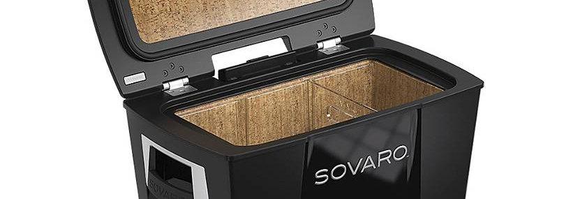 45 Qt. Black/Silver Sovaro Cooler