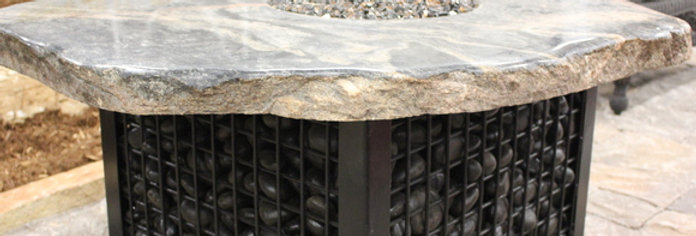 Waterstone Gabion Rock Base with Top
