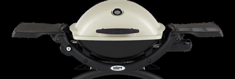 Titanium Weber Q 1200 Gas Grill