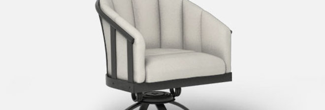 Liberty Swivel Rocker Barrel Chair