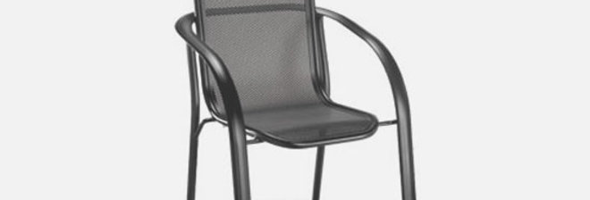 Florida Mesh Café Chair (Stackable)