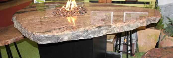 Waterstone Fire Bar-Height Table