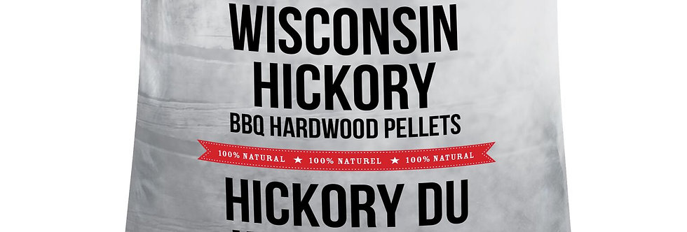 40 lbs. Wisconsin Hickory Pellets