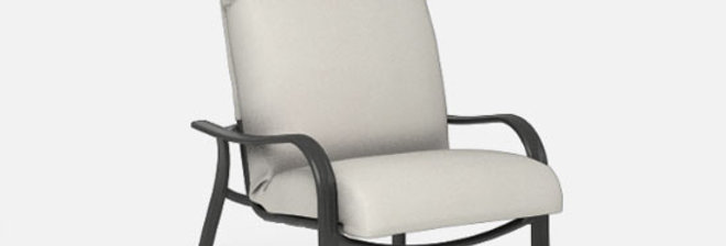 Holly Hill High Back Padded Dining Chair