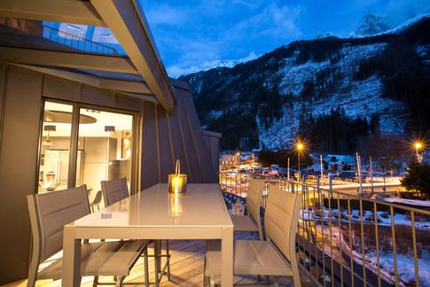 Kandahar Lodge 2 Terrace