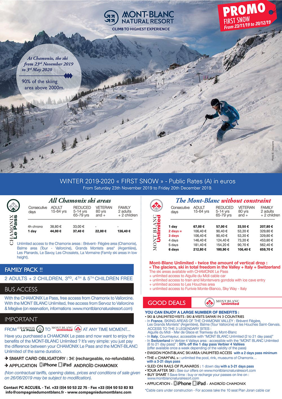 Promo First Snow and Speing skiing 2020.