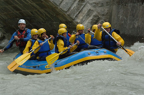 Rafting Chamonix