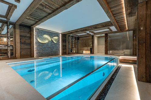 Private Swimming-pool Chalet Infinity