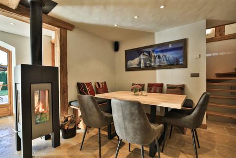 Nordic Lodge breakfast area fireplace.jpg