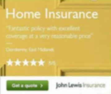 John Lewis Home Insurance