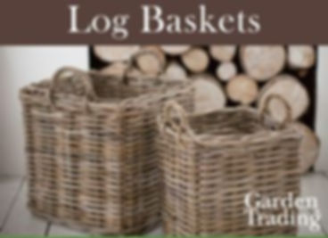 Garden Trading Log Baskets