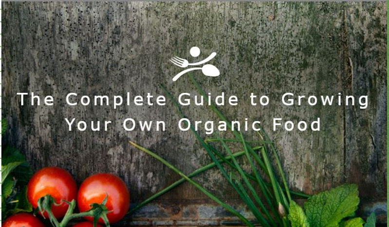 Complete guide to growing your own organic food