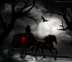 Principal Croft's fatal carriage ride at the beginning of the story