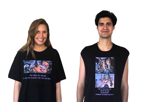 Carnage and Googamond moon rides shirt and muscle shirt
