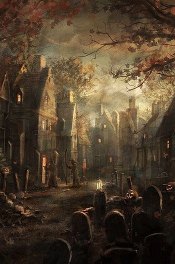 Another picture that inspired the Old Halloween Village which is going to be featured in the sequel to Book Three