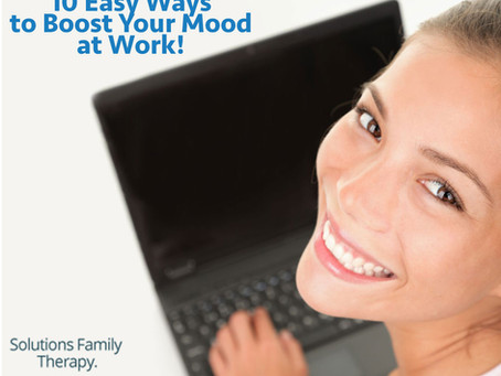 10 Easy Ways to Boost Your Mood At Work