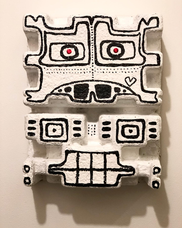 SOLD Totem Mask  (Bklyn, NY)