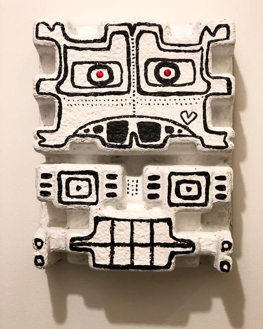 SOLD Totem Mask  (Bklyn, NY)