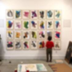 #postshow #artshow #curator #artist #art #brooklyn #brooklynartist #brooklynmom #abstractart #design