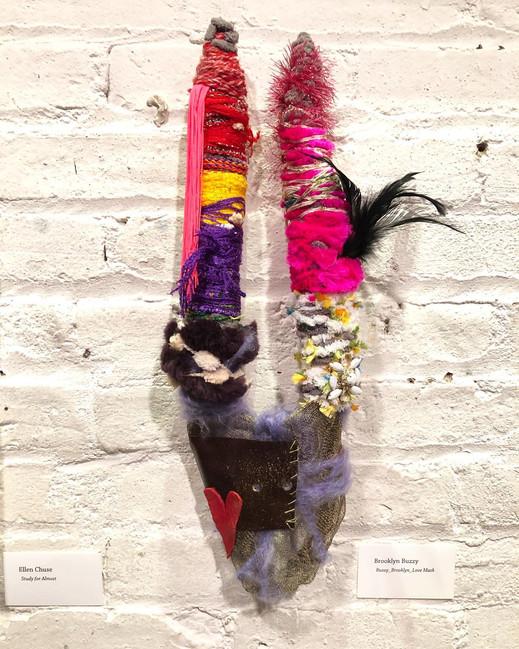 SOLD Love Mask  (Bklyn, NY)