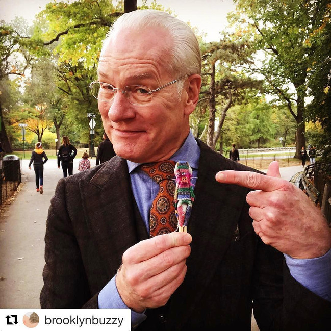 SOLD Tim Gunn with his Buzzy in Central Park (NYC)