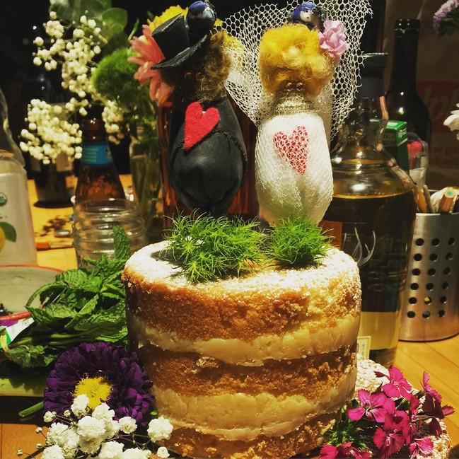SOLD A + N Wedding Cake (Austin, TX)