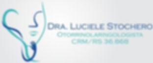 logotipo Dra Luciele Stochero otorrino Santo Ângelo